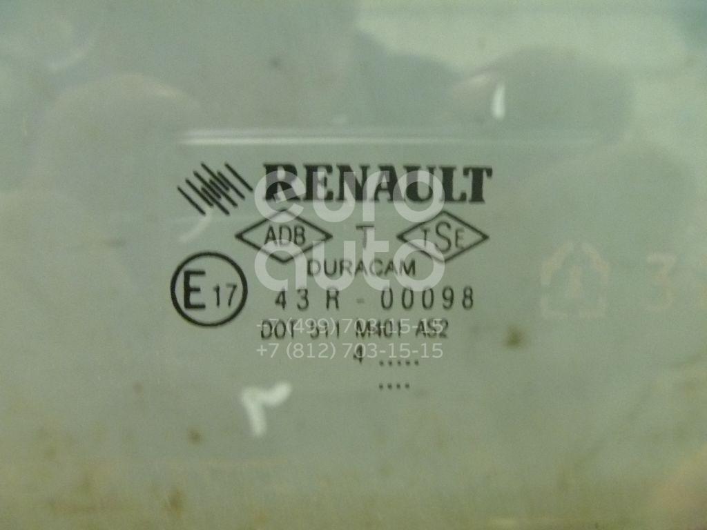 Стекло двери передней правой для Renault Megane II 2002-2009 - Фото №1