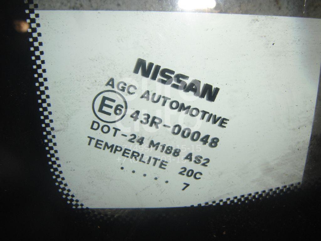 Стекло кузовное глухое левое для Nissan Qashqai (J10) 2006-2014 - Фото №1