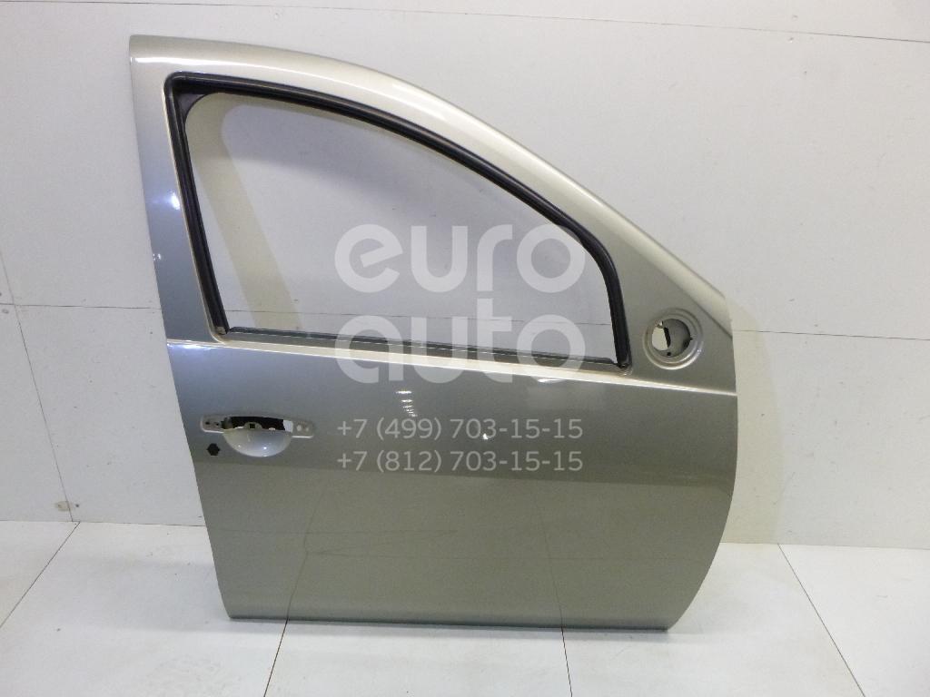 Купить Дверь передняя правая Renault Sandero 2009-2014; (801007358R)