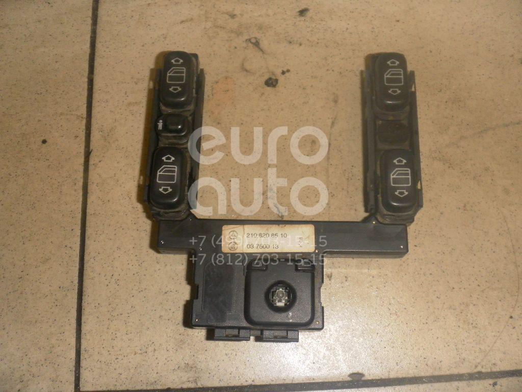 Блок кнопок для Mercedes Benz W202 1993-2000;W210 E-Klasse 1995-2000 - Фото №1
