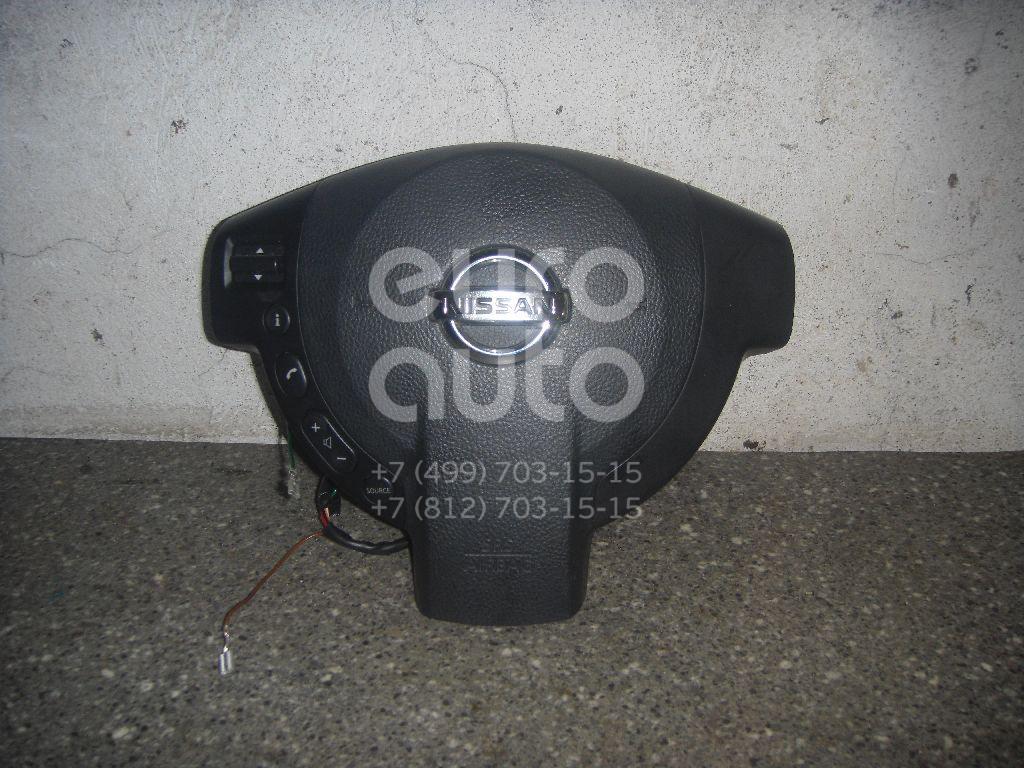 Подушка безопасности в рулевое колесо для Nissan Qashqai (J10) 2006-2014 - Фото №1