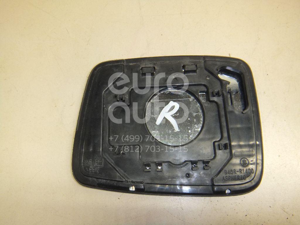 Стекло зеркала электрического правого для Nissan X-Trail (T30) 2001-2006 - Фото №1