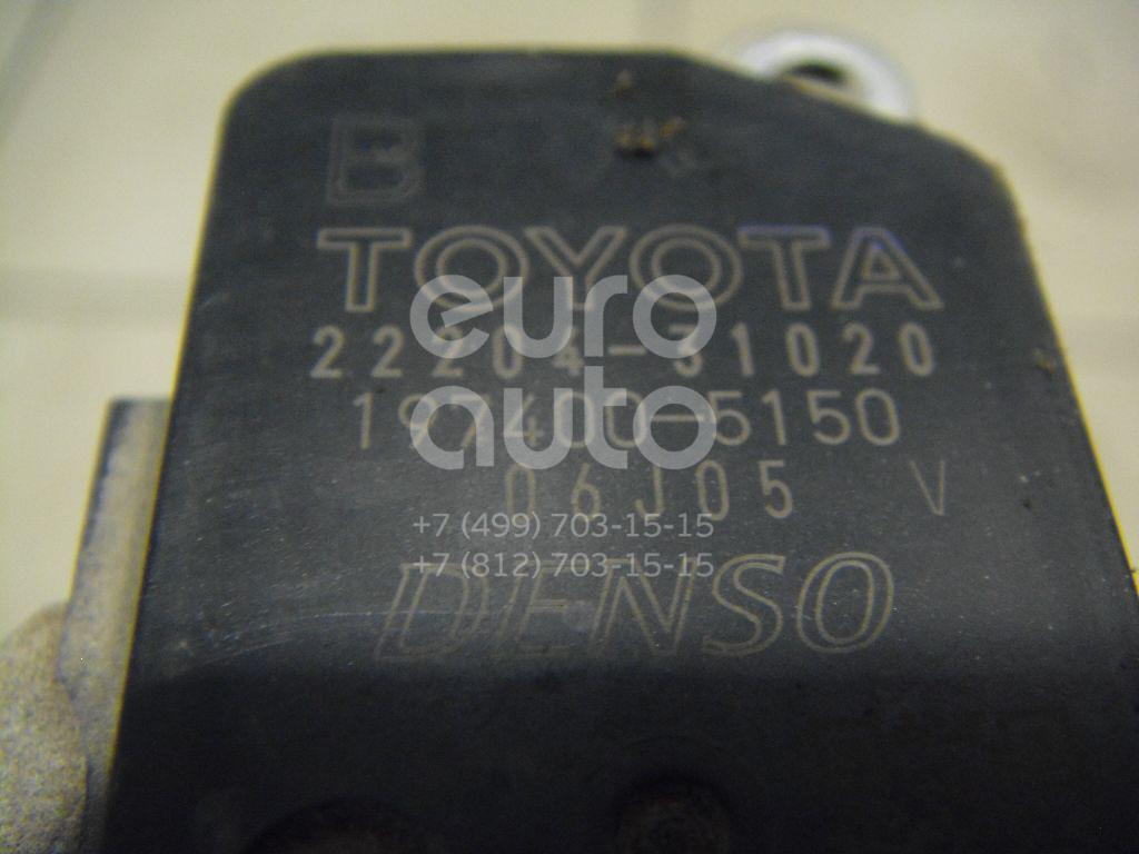 Расходомер воздуха (массметр) для Toyota,Lexus RAV 4 2006-2013;Camry V40 2006-2011;RX 300/330/350/400h 2003-2009;Previa 2000>;Auris (E15) 2006-2012;Corolla E15 2006-2013;Yaris 2005-2011;GS 300/400/430 2005-2011;IS 250/350 2005-2013 - Фото №1