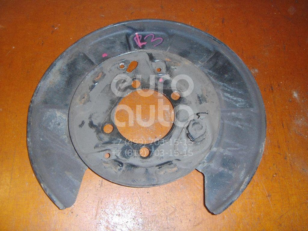 Щит опорный задний левый для Toyota RAV 4 2006-2013 - Фото №1