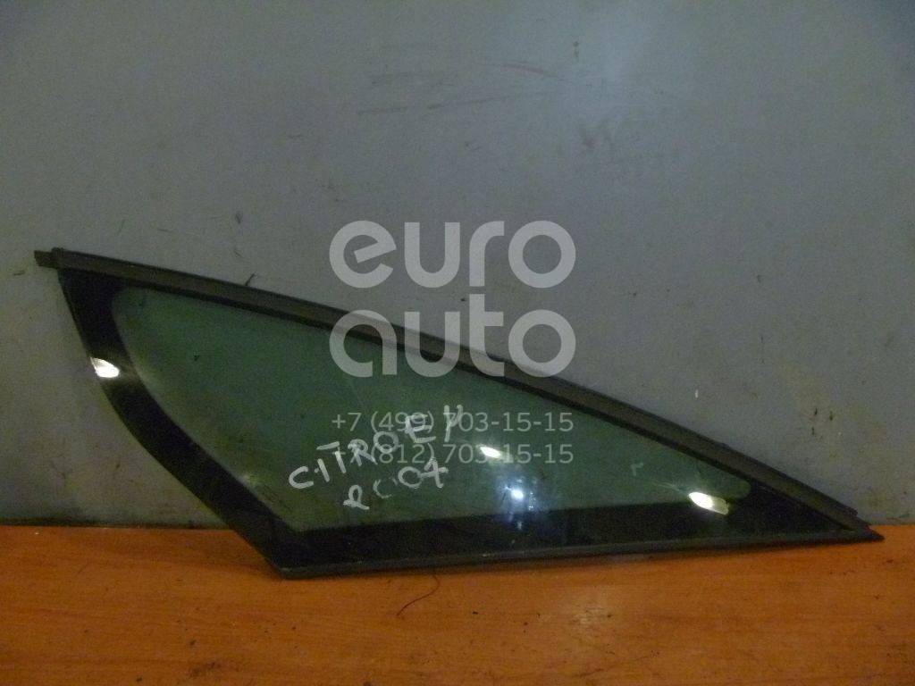Стекло кузовное глухое левое для Citroen C4 Picasso 2006-2014;C4 Grand Picasso 2006-2014 - Фото №1