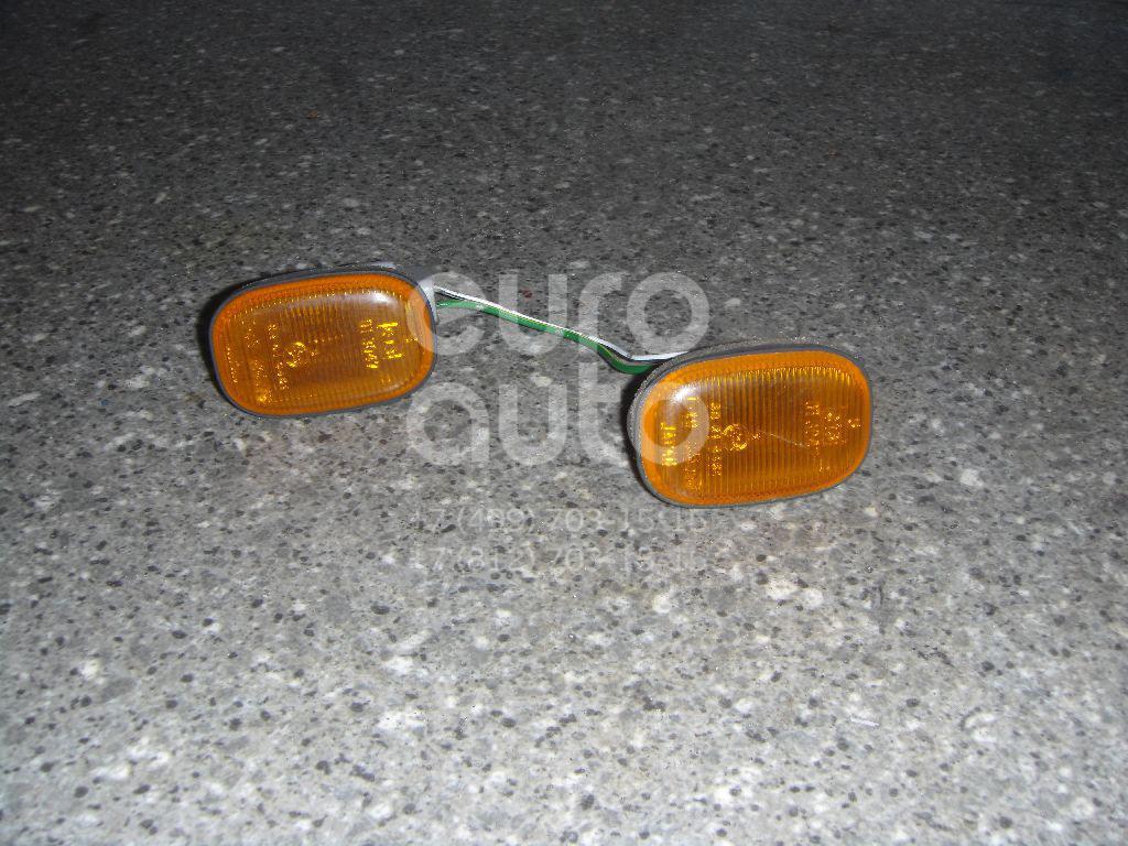 Повторитель на крыло желтый для Toyota Carina E 1992-1997 - Фото №1