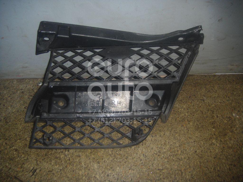Решетка радиатора правая для Mitsubishi Outlander (CU) 2001-2008 - Фото №1