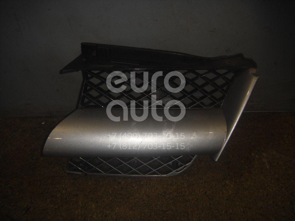 Решетка радиатора левая для Mitsubishi Outlander (CU) 2003-2009 - Фото №1