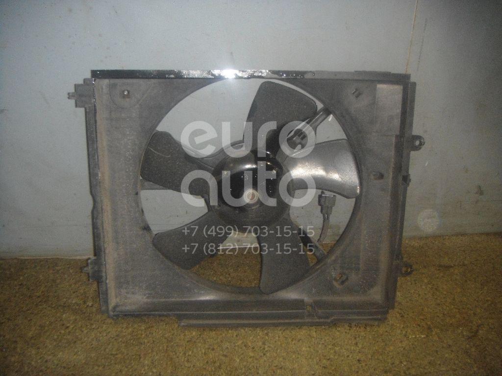 Вентилятор радиатора для Mitsubishi Outlander (CU) 2003-2009 - Фото №1