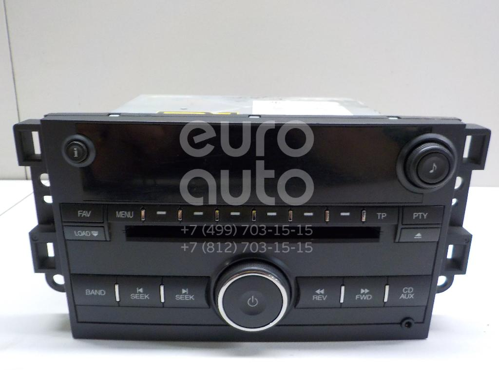 Купить Магнитола Chevrolet Captiva (C100) 2006-2010; (96673510)