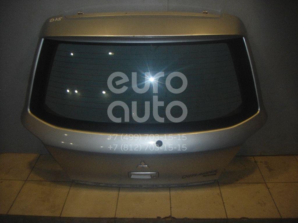 Дверь багажника со стеклом для Mitsubishi Outlander (CU) 2003-2008 - Фото №1