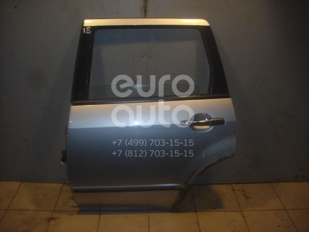Дверь задняя левая для Mitsubishi Outlander (CU) 2001-2008 - Фото №1