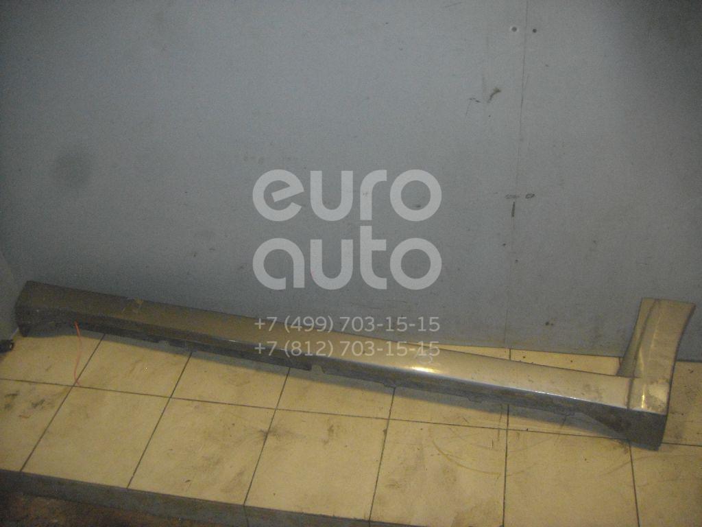 Накладка на порог (наружная) для Mitsubishi Outlander (CU) 2003-2009 - Фото №1