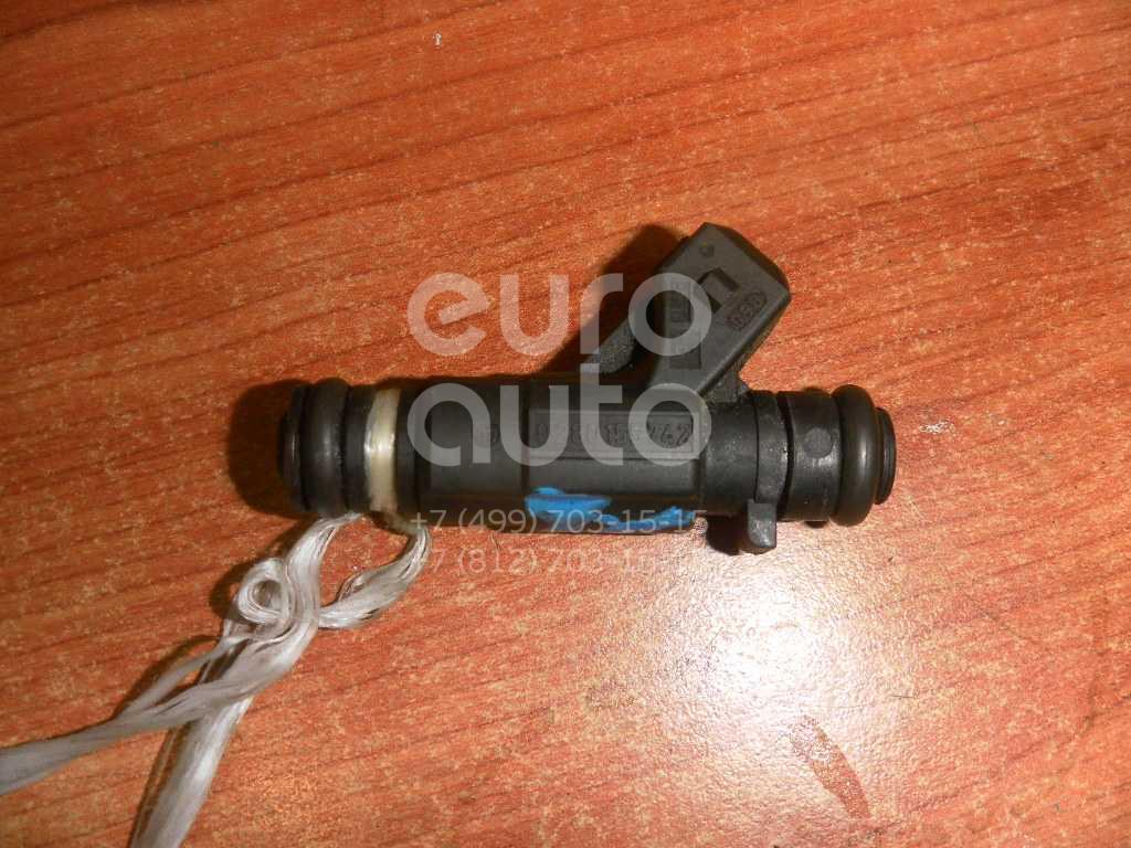 Форсунка инжекторная электрическая для Mercedes Benz W220 1998-2005;W163 M-Klasse (ML) 1998-2004;W129 1989-2001;W202 1993-2000;W210 E-Klasse 1995-2000;C208 CLK coupe 1997-2002;G-Class W463 1989>;W210 E-Klasse 2000-2002 - Фото №1