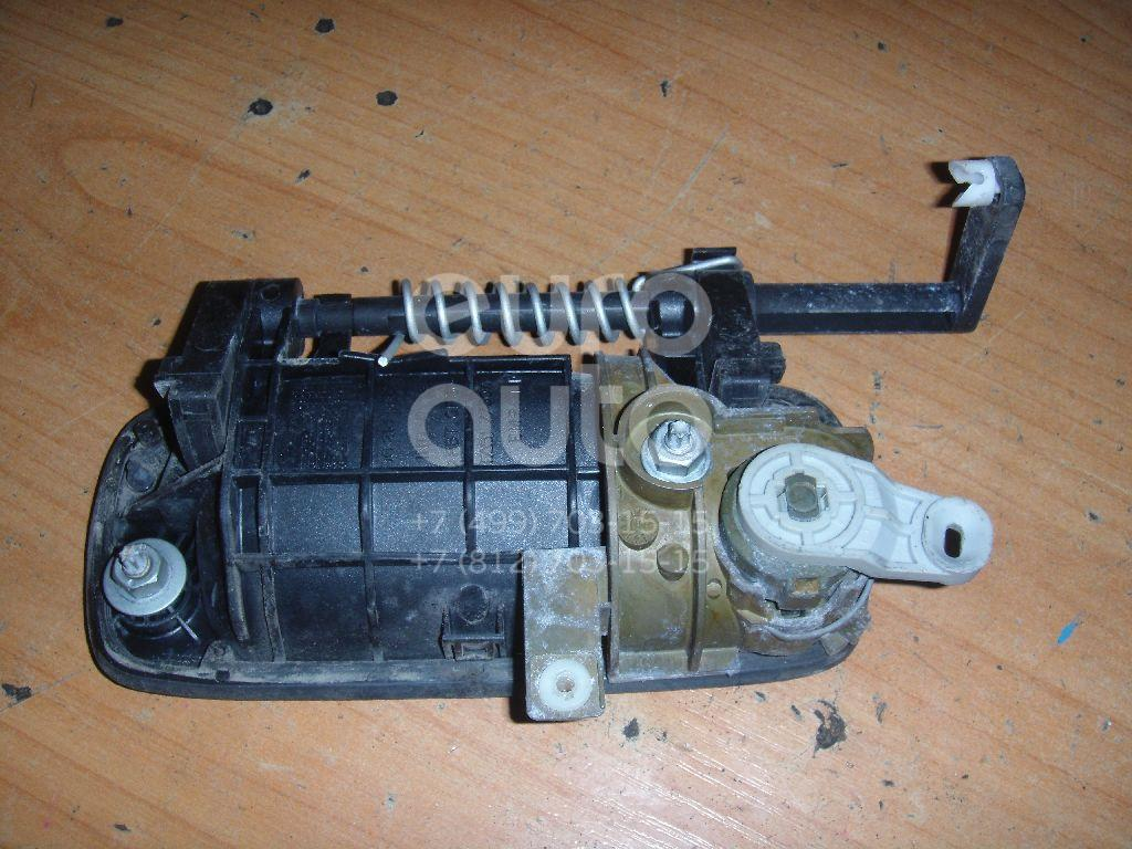 Ручка двери передней наружная правая для Peugeot 406 1999-2004;406 1995-1999 - Фото №1