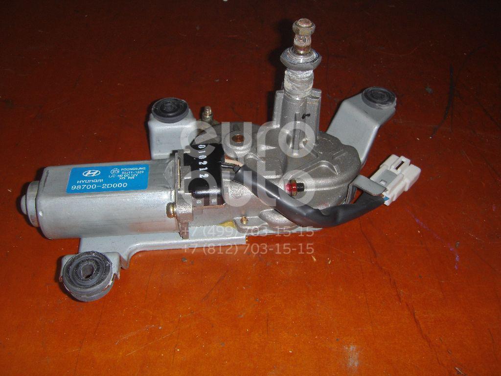 Моторчик стеклоочистителя задний для Hyundai Elantra 2000-2006 - Фото №1