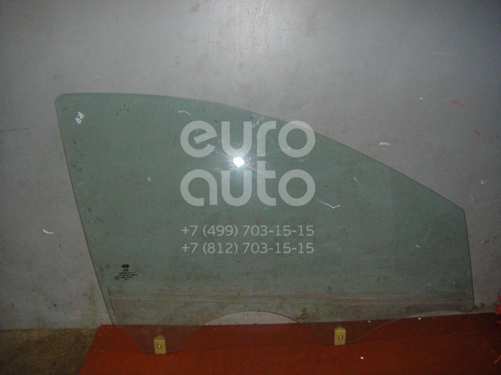 Стекло двери передней правой для Hyundai i20 2008-2014 - Фото №1