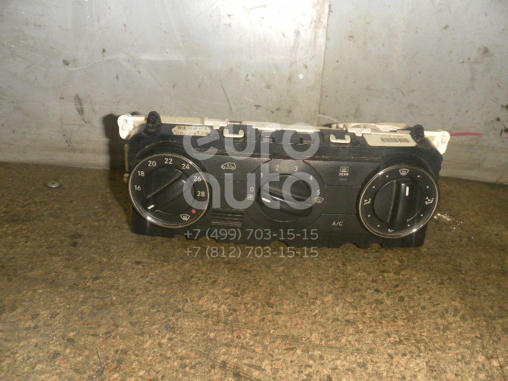 Блок управления климатической установкой для Mercedes Benz W245 B-klasse 2005-2011;A140/160 W169 2004-2012 - Фото №1