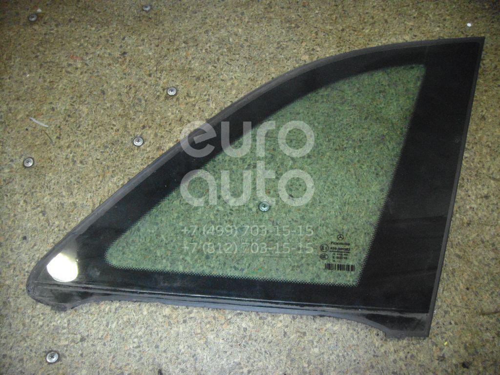 Стекло кузовное глухое правое для Mercedes Benz W245 B-klasse 2005-2012 - Фото №1