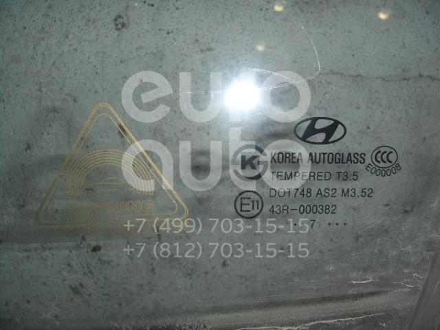 Стекло двери передней левой для Hyundai i30 2007-2012 - Фото №1