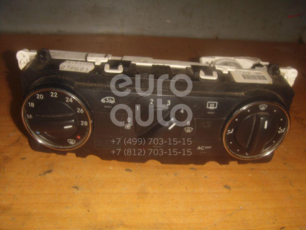 Блок управления климатической установкой для Mercedes Benz A140/160 W169 2004-2012;W245 B-klasse 2005-2012 - Фото №1