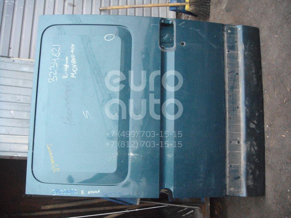 Дверь сдвижная для Renault Movano 1998>;Master II 2000-2010 - Фото №1