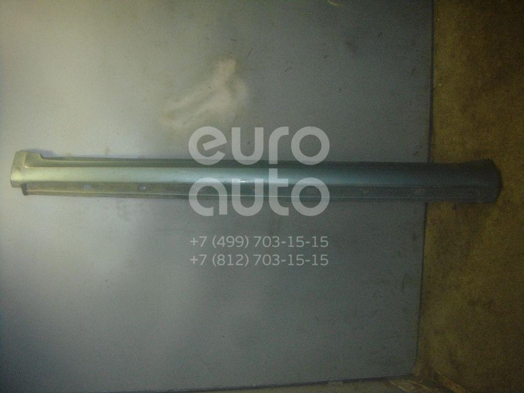 Накладка на порог (наружная) для Mercedes Benz A140/160 W169 2004-2012 - Фото №1