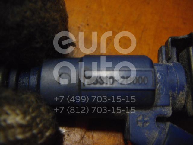 Форсунка инжекторная электрическая для Hyundai,Kia i30 2007-2012;Cerato 2004-2008;Elantra 2006-2011;Ceed 2007- 2012;Soul 2009-2014;i20 2008-2014;Cerato 2009-2013;Carens 2006-2012;Solaris/Accent IV 2010>;Venga 2010> - Фото №1