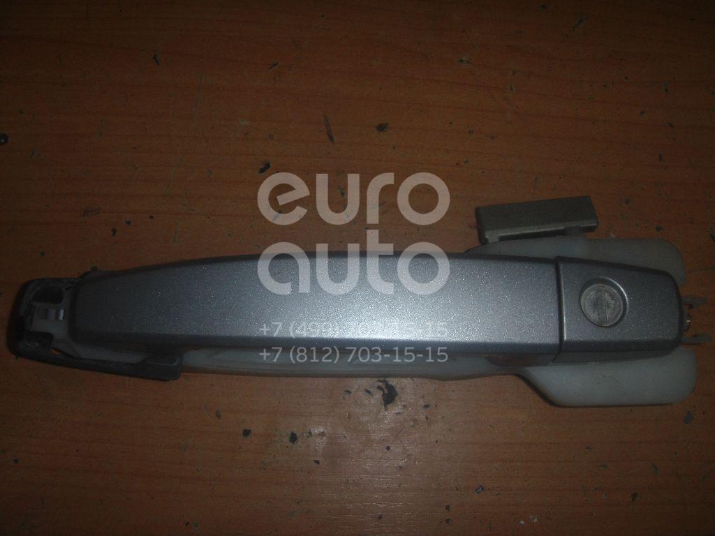 Ручка двери передней наружная левая для Chevrolet Aveo (T250) 2005-2011 - Фото №1