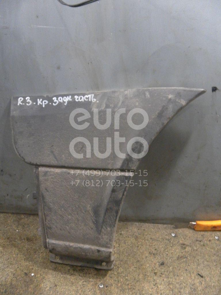 Накладка заднего крыла правого для Mercedes Benz Sprinter (906) 2006>;Crafter 2006> - Фото №1