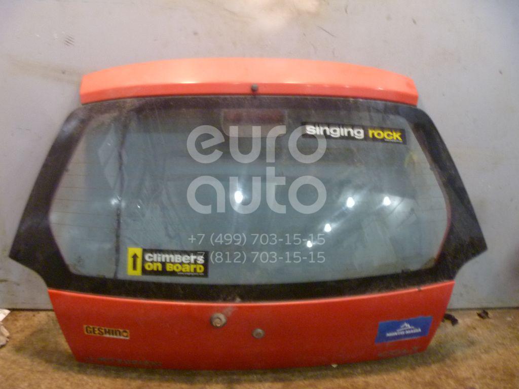 Дверь багажника со стеклом для Mitsubishi Colt (CJ) 1996-2004 - Фото №1