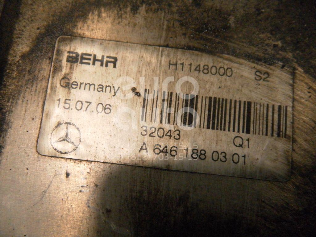 Радиатор масляный для Mercedes Benz Sprinter (906) 2006>;Sprinter (901-905)/Sprinter Classic (909) 1995-2006;Vito (638) 1996-2003;W203 2000-2006;C209 CLK coupe 2002-2010;W211 E-Klasse 2002-2009;W204 2007-2015;Vito/Viano-(639) 2003-2014 - Фото №1