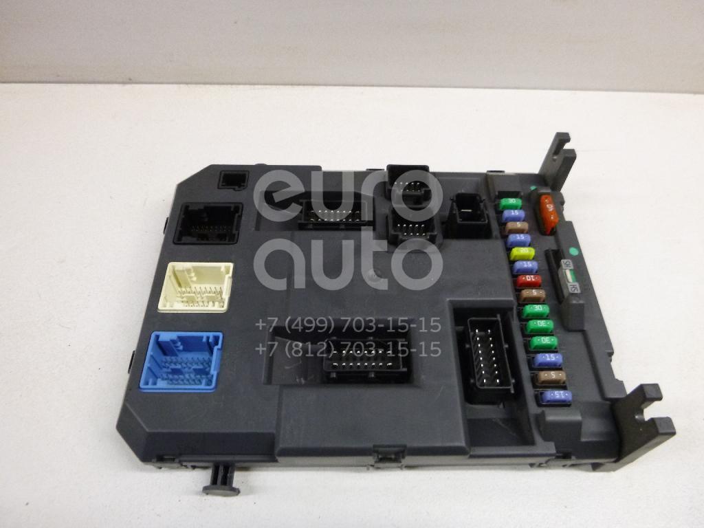 Купить Блок предохранителей Citroen C3 Picasso 2008-2017; (6580SG)