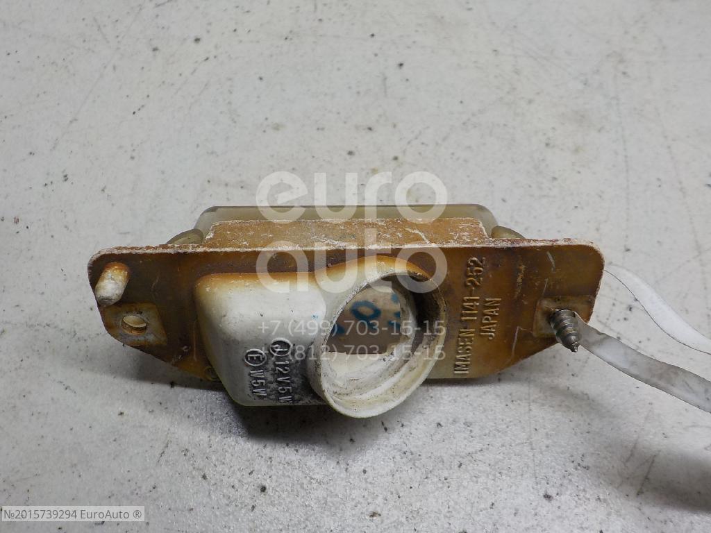 Фонарь подсветки номера для Mitsubishi Colt (CJ) 1996-2004;Colt 1992-1996 - Фото №1