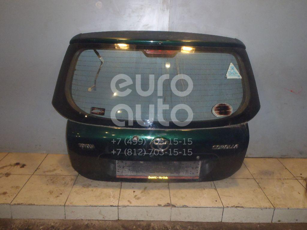 Дверь багажника для Toyota Corolla E12 2001-2006 - Фото №1