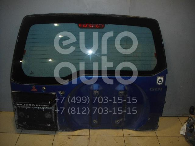 Дверь багажника со стеклом для Mitsubishi Pajero Pinin (H6,H7) 1999-2005 - Фото №1