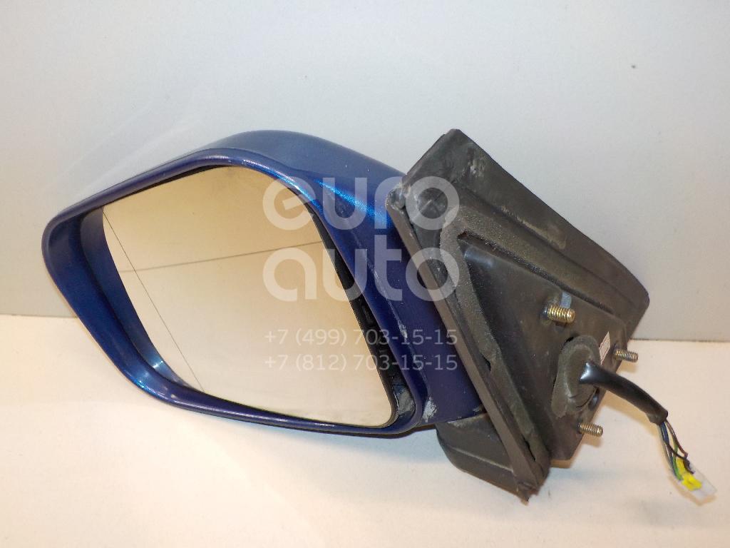 Зеркало левое электрическое для Mitsubishi Pajero Pinin (H6,H7) 1999-2005 - Фото №1