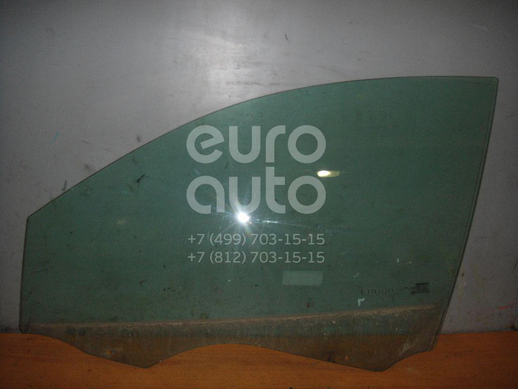 Стекло двери передней левой для Renault Megane II 2002-2009 - Фото №1