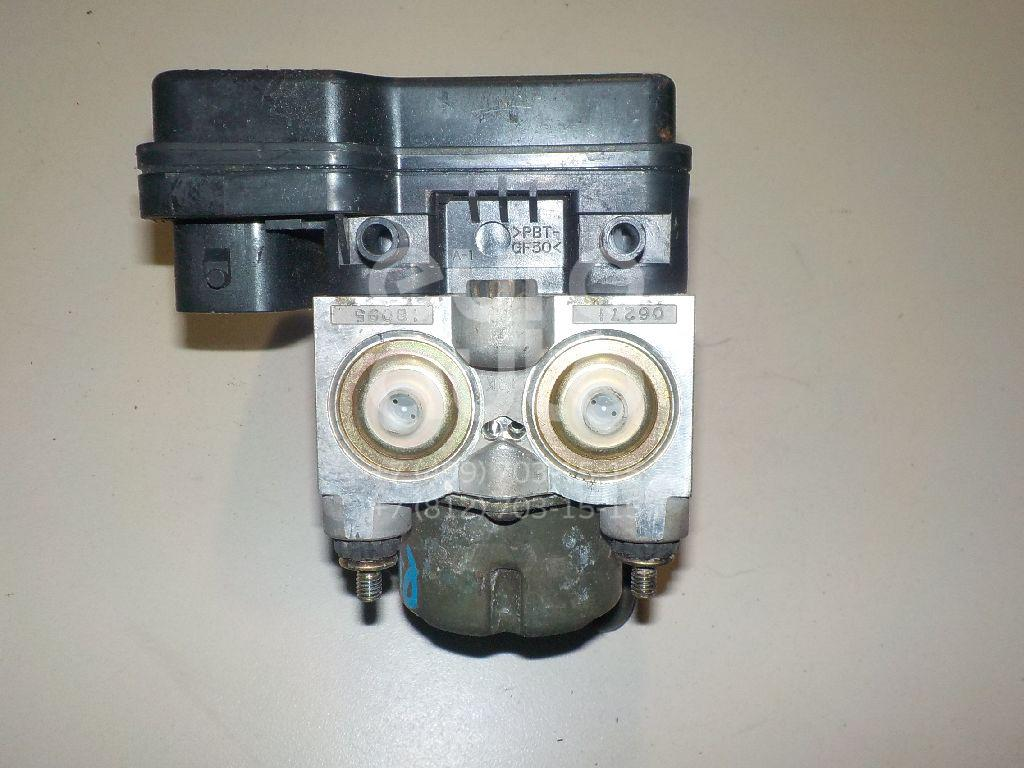 Блок ABS (насос) для Mitsubishi Pajero Pinin (H6,H7) 1999-2005 - Фото №1