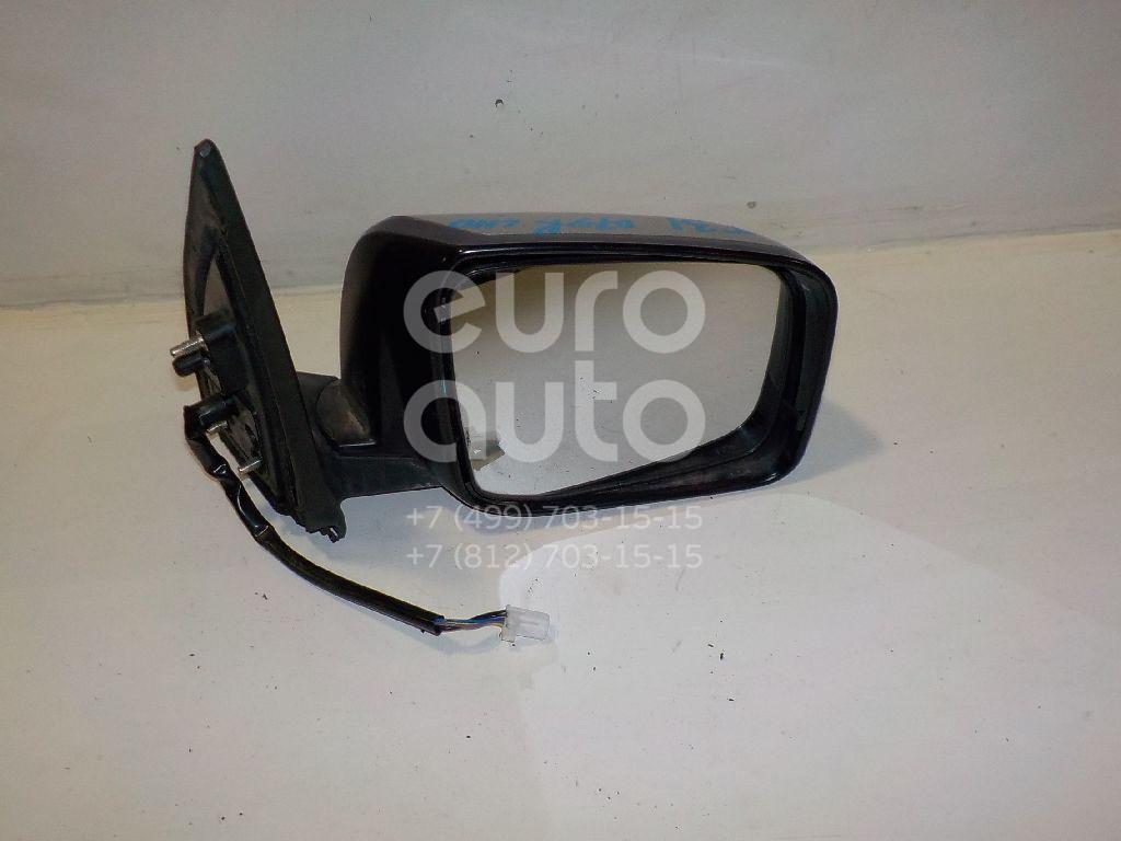 Зеркало правое электрическое для Nissan X-Trail (T31) 2007-2014 - Фото №1