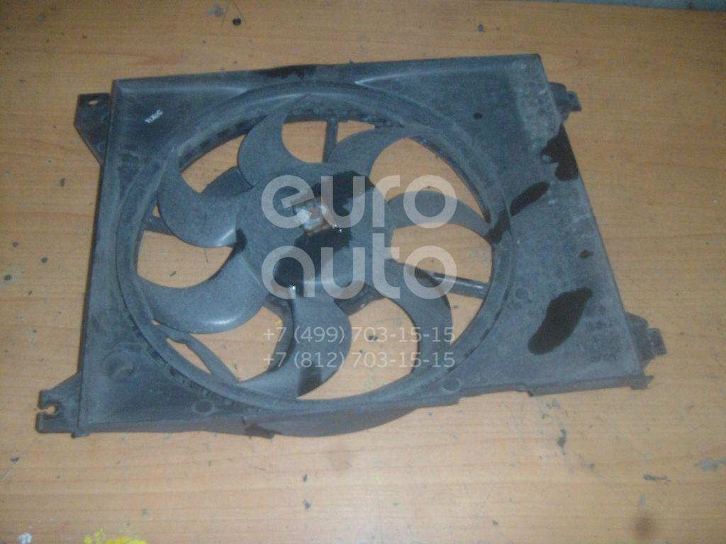 Вентилятор радиатора для Hyundai Sonata V (NEW EF) 2001>;Sonata IV (EF) 1998-2001 - Фото №1