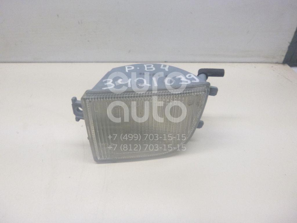 Указатель поворота в бампер левый белый для VW Passat [B4] 1994-1996 - Фото №1