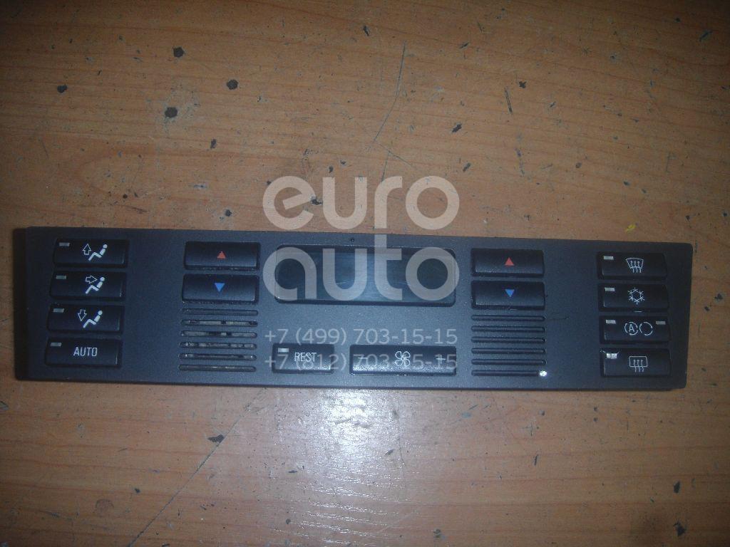 Блок управления климатической установкой для BMW 5-серия E39 1995-2003;X5 E53 2000-2007 - Фото №1