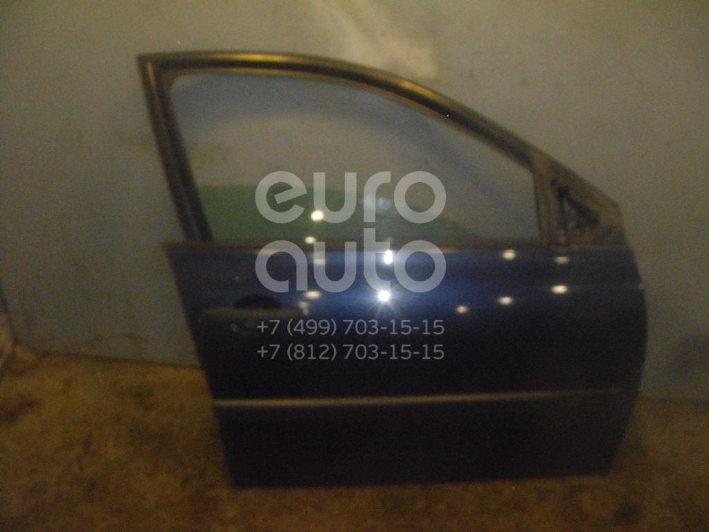 Дверь передняя правая для Renault Megane II 2002-2009 - Фото №1