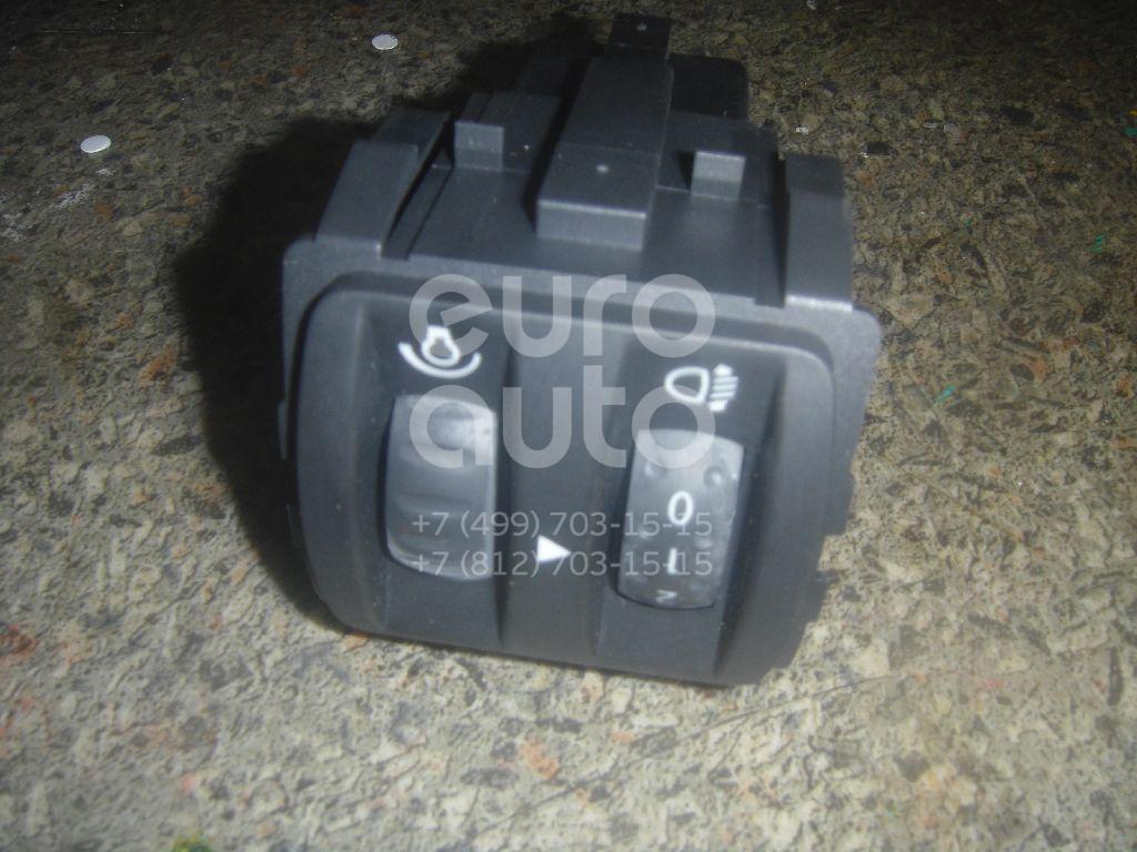 Кнопка корректора фар для Renault Megane II 2002-2009;Clio III 2005-2012 - Фото №1