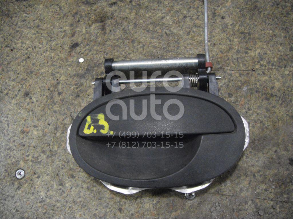 Ручка двери задней наружная левая для Opel Corsa C 2000-2006 - Фото №1