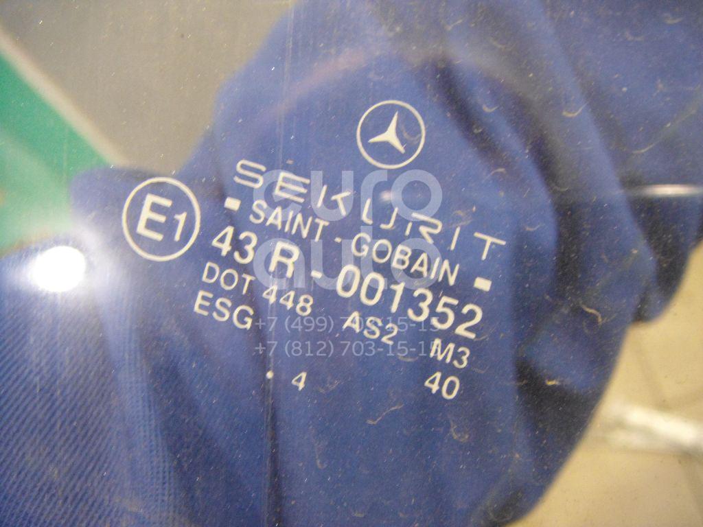 Стекло двери передней правой для Mercedes Benz W202 1993-2000 - Фото №1