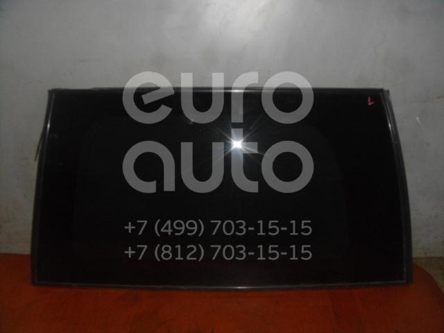 Стекло кузовное глухое левое для Nissan Pathfinder (R51M) 2004-2013 - Фото №1