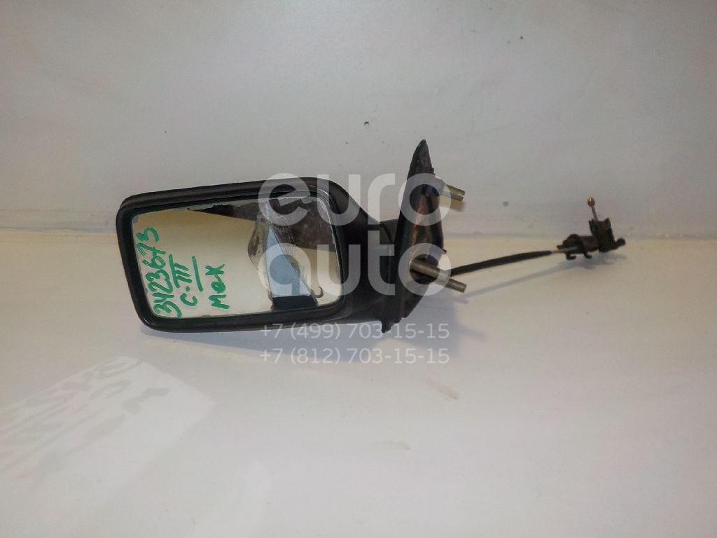 Зеркало левое механическое для VW Golf III/Vento 1991-1997 - Фото №1