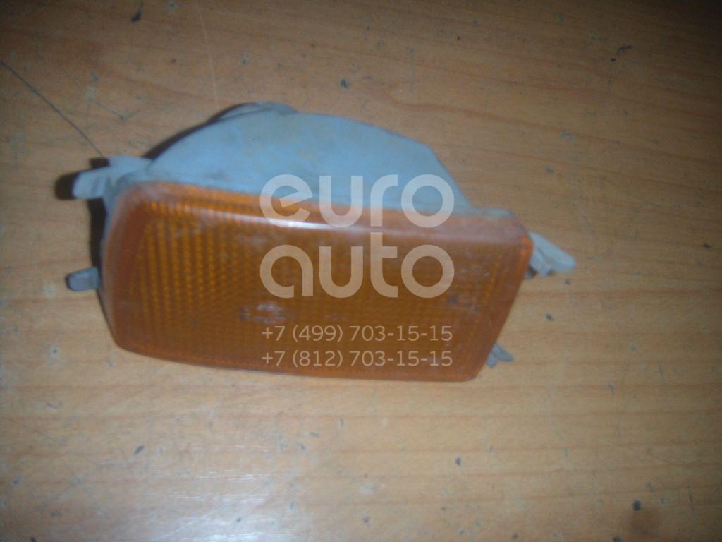 Указатель поворота в бампер левый желтый для VW Golf III/Vento 1991-1997 - Фото №1